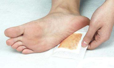 Detoksykacja przez stopy