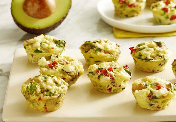 Muffinki z awokado