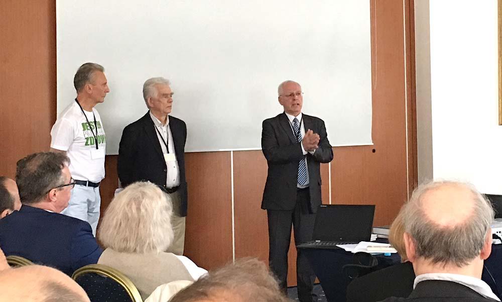 Czas na zmiany – spotkanie Jerzego Zięby z lekarzami