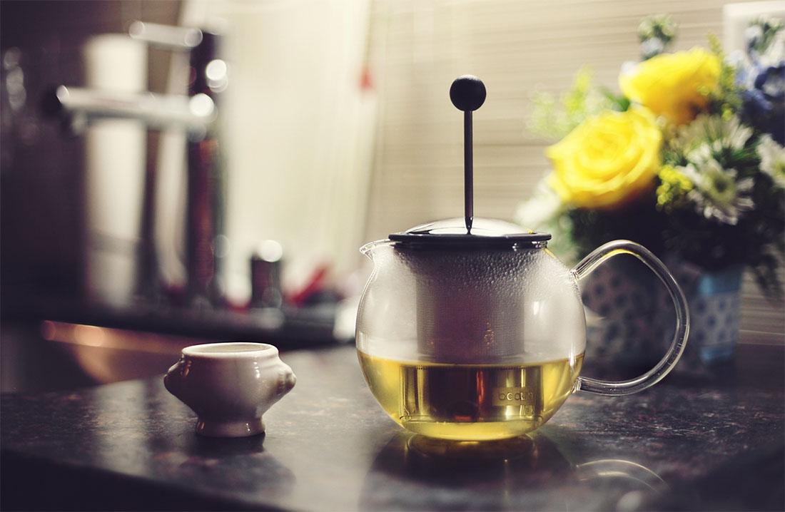 medycyna naturalna zielona herbata