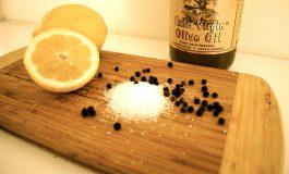 Sól pieprz i cytryna - naturalna mikstura na wiele dolegliwości