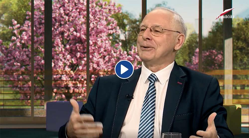 Dyskusję w TV można prowadzić na poziomie – Jerzy Zięba w TV Republika [FILM]