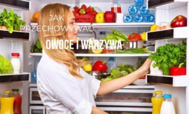 Jak przechowywać owoce i warzywa, aby ich przydatność była dłuższa?