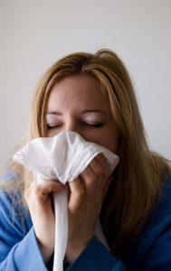katar kobiety przez zanieczyszczone powietrze