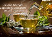 Zielona herbata zapobiega zawałom i udarom
