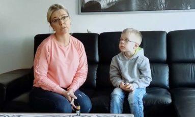 Dziesięcioletni Sebastian i jego naturalna walka z guzem mózgu [FILM]